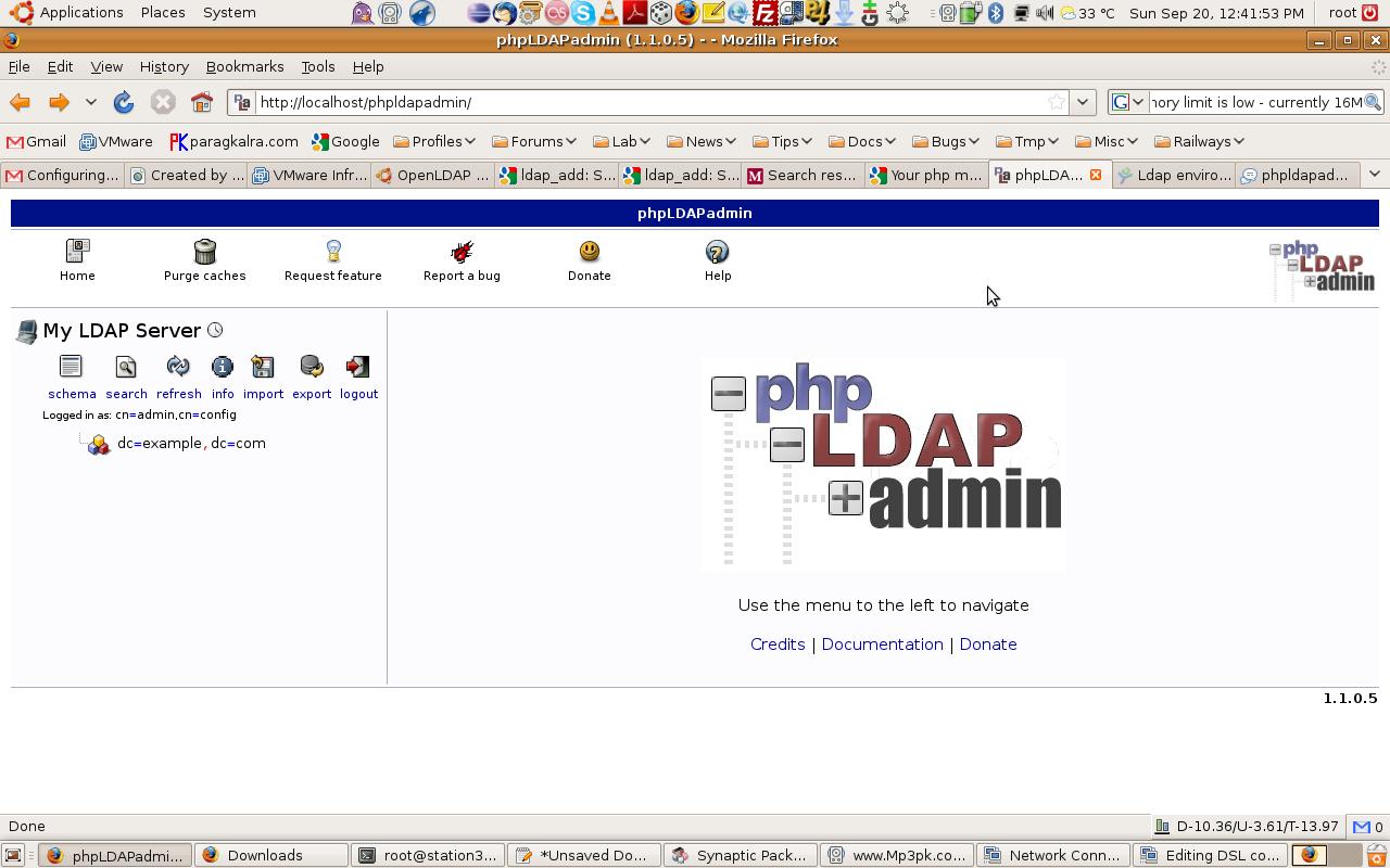 Re: Configuring OpenLDAP on Ubuntu 8 10